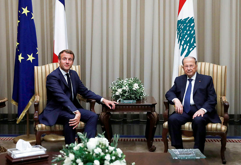 Emmanuel Macron Returns To Beirut After The Appointment Of The New Prime Minister Atalayar Las Claves Del Mundo En Tus Manos