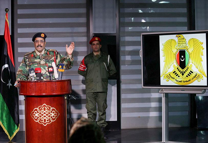 Ahmed al-Mismari, spokesman of the Libyan National Army (LNA)