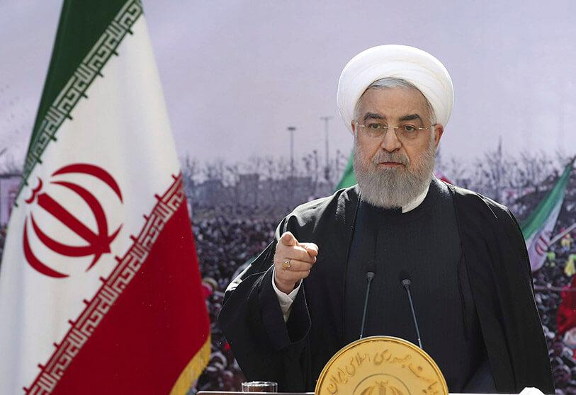 Hassan Rohani said the West has no other way but to reach an agreement with Tehran to restore the 2015 nuclear deal.