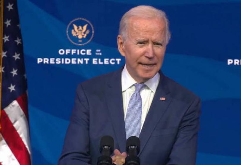"Biden Calls Congressional Raiders ""Domestic Terrorists"