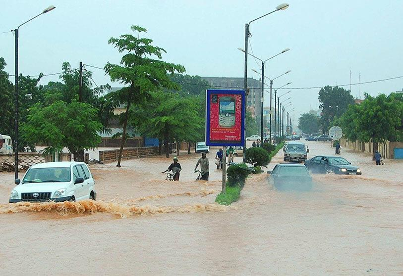 Floods in the Sahel