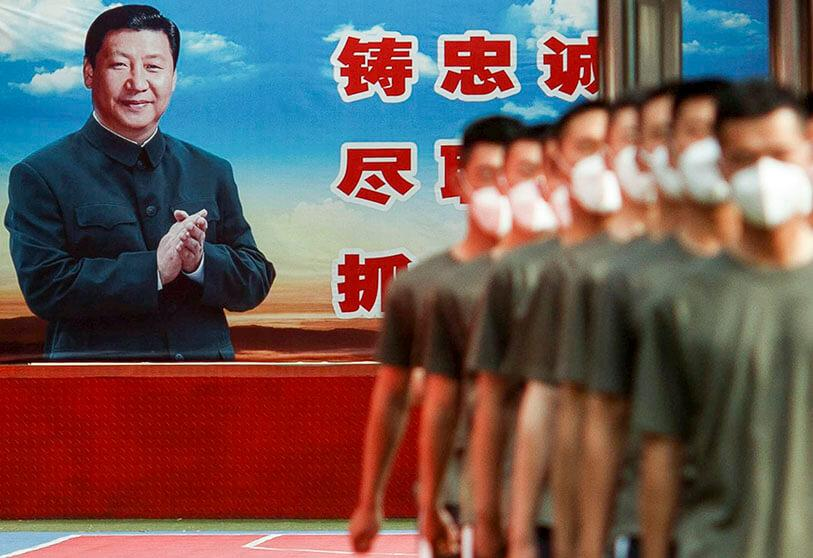 El presidente de China XI Jinping
