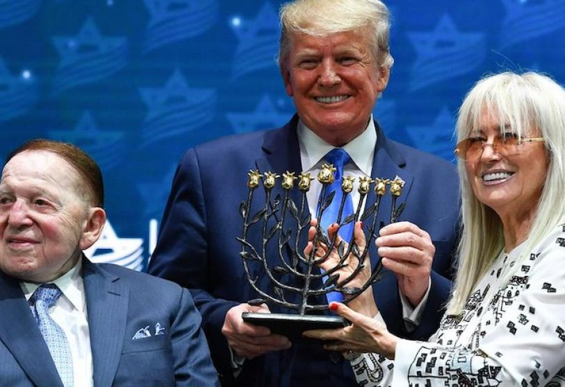 Donald Trump y Sheldon Adelson