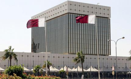 Central Bank of Qatar in Doha