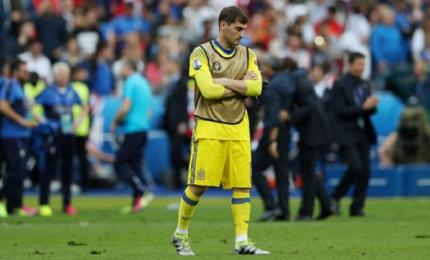El exjugador del Real Madrid Iker Casillas