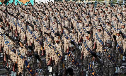 Members of the Islamic Revolutionary Guard Corps of Iran (IRGC)