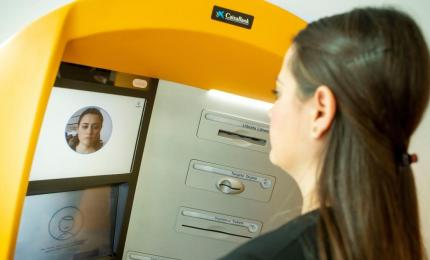 CaixaBank deploys throughout Spain ATMs with facial recognition technology
