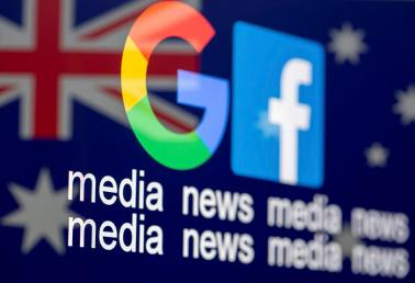 Australia passes groundbreaking law to make Google and Facebook pay for news reports