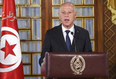 Tunisian President Kais Saied announced a further one-month extension of the state of emergency imposed on the country since November 2015